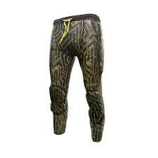 Reusch Goalie Pants Size Chart Reusch 3 4 Soft Padded Capri Pants