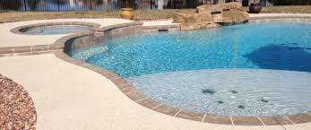 types of pool surfaces