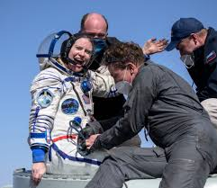 NASA <b>Astronaut</b> Kate Rubins, Crewmates Return Safely to Earth ...