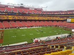 Fedex Field Club Level Seating Chart Fedexfield Zone B Club 325 Rateyourseats Com