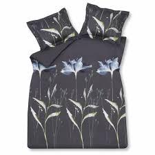 wonderful duvet cover 200x220 cm navy 036 satin cotton