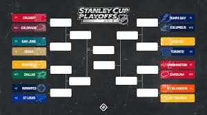 Hockey Playoff Standings Chart When Do The Nhl Playoffs Start First Round Schedule Odds