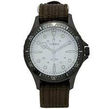 Timex Navi <b>XL Watch</b> Grey & Olive | END.