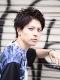 男髪グロスエッジィメンズ髪型 Lipps 吉祥寺mens Hairstyle