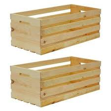 x large wood crate