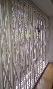 Decorative Security Grilles For Windows Rsg1000 Retractable Security Grilles Fitted In A Window On A