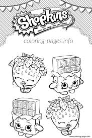 Small Picture Shopkins Cheeky Chocolate And Strawberry Kiss Coloring Pages Printable
