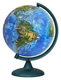 <b>Глобус Глобусный мир</b> Детский 250 мм (10550) — купить по ...