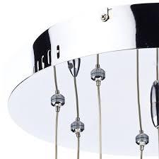 cluster pendant lighting. juliette polished chrome 9 lights cluster pendant light london lighting 4