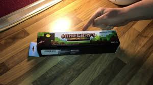 Minecraft Light Up Torch Uk Minecraft Light Up Torch Unboxing And Instructions