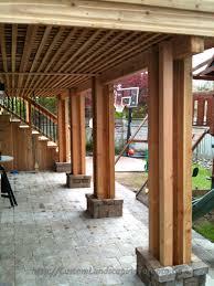 Under Deck Patio Designs Walk Out Basement Under Deck Designs Google Search