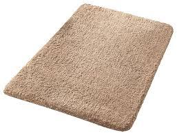 quick drying microfiber super soft bathroom rug taupe rumba contemporary bath mats by vita futura