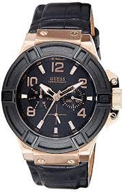 buy guess analog black dial men s watch w0040g5 online at low guess analog black dial men s watch w0040g5