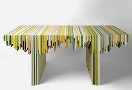 Designer Rabih Hage Uses Leftover Corian to Create Fantastic Furniture