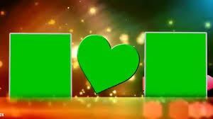 Hd Beautiful Wedding Frame Green Screen Video Background Youtube