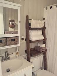 B & Q Bathroom Storage Beautiful Over the toilet Ladder Shelf Choose  Color and Width