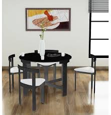 space saving dining table black round with chairs inside saver room tables designs 6