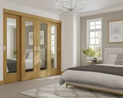 Wardrobe Pattern Design Xl Joinery Oak Pattern 10 Sliding Mirror Wardrobe Door System
