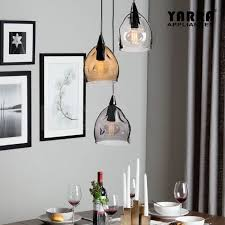 details about multicolor pendant ceiling light smoke glass dining room lamp clear grey tawny