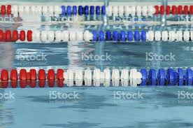olympic swimming pool lanes. Olympic Swimming Pool Lanes Red White And Blue Size Lane Marker Stock