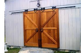 Exteriors Custom Garage Doors With Wooden Sliding Garage Garage Door