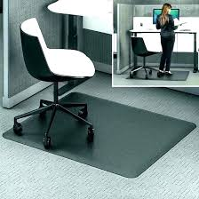 office chair mats mat for high pile carpet desk thick walmart canada m