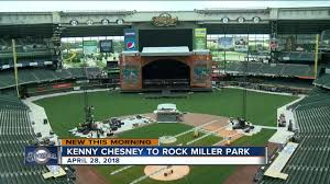 Miller Park Concert Seating Chart Kenny Chesney Concert Scheduled At Miller Park This Spring