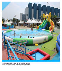 inflatable above ground pool slide. Elephant Above Ground Pool Water Slide, Large Inflatable Slide