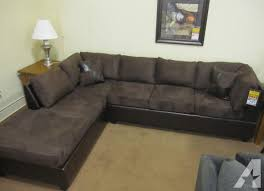 cheap sectional sofas. Brand New Godiva Microsuede SECTIONAL SOFA (Bulk Cheap Sectional Sofas F