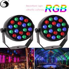 Led Equipment Lights Details About 2pcs 18par Led Stage Light Effect Disco Lights Professional Stage Dj Equipment