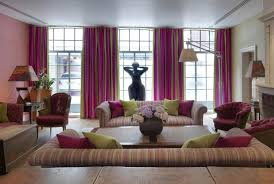 Purple Living Room Curtains Purple Living Room Accessories For Balance And Fresh Living Room