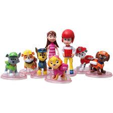 <b>8Pcs</b>/<b>Set PAW Patrol</b> Model <b>Toys PAW Patrol</b> Action & <b>Toy</b> Figures ...
