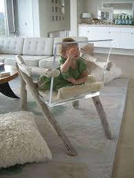 modern acrylic furniture. Lucite And Acrylic Furniture Modern Chair With Baby On Rough Wooden Legs Armrests