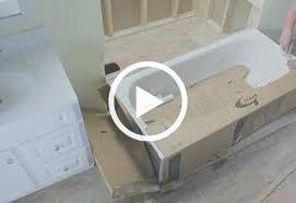 setting a bathtub protect tub during installation remove and replace bathtub install bathtub drain shoe