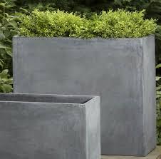 modern concrete planters  concrete planters gallery  xtend
