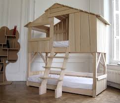House Bunk Bed Kids Playhouse Beds From Mathy By Bols Loft Treehouse Canopy