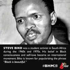 Steve Biko Quotes Black Is Beautiful Best Of Steve Bantu Biko 24 Memorable Quotes Pinterest Steve Biko And