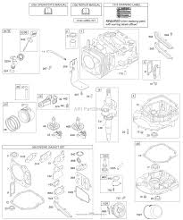 Briggs and stratton 123602 0132 e1 parts diagram for camshaft