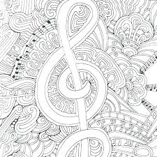 Music Coloring Worksheets