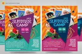 10 Summer Camp Flyer Designs Word Psd Ai Eps Vector Design
