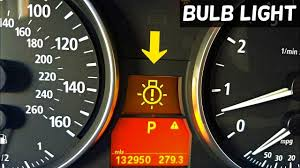 Bmw X3 Dash Light Symbols Bmw Bulb Warning Light E90 E91 E92 How To Know Which Bulb Is Bad