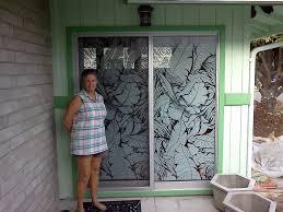 stupendous sliding glass door stickers sliding glass door stickers saudireiki