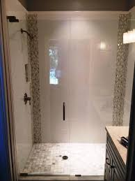 modern glass shower doors brilliant elegant frameless enclosures inside 12