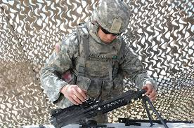 File:Army Spc. Adam Bardwell disassembles an M249 light machine gun during  the Noncommissioned Officer and Soldier of the Year competition at Fort  Carson, Colo., May 8, 2012 120508-A-YY130-027.jpg - Wikimedia Commons