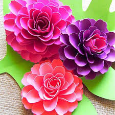 Dahlia Flower Making With Paper Dahlia Paper Flower Tutorial Magdalene Project Org