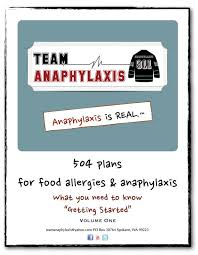 504 plan template awesome 57 best food allergy info s images on of 504