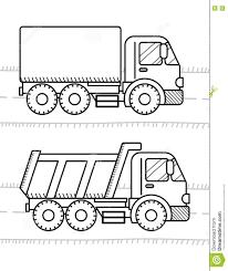Chantier De Construction Avec Une Excavatrice Et Un Camion A Benne Chantier De Construction Avec Une Excavatrice Et Un Camion A Benne A Colorier L