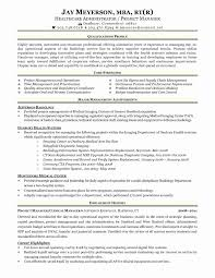 Healthcare Administrationsume Template Entry Level Templates