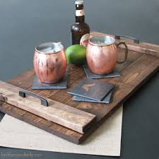 The above pictured DIY Gentleman's Drink Coasters make a perfect gift as  well!