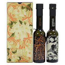vanilla and orange extra virgin olive oil gift set